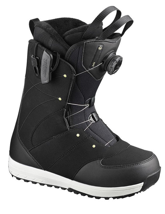 Salomon Ivy Boa SJ Snowboard Boot 20 | Black/Lime