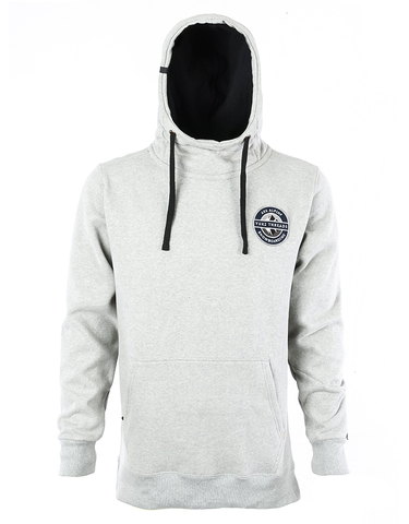 Yuki Threads DWR Loop Shred Hoodie | Grey Marle