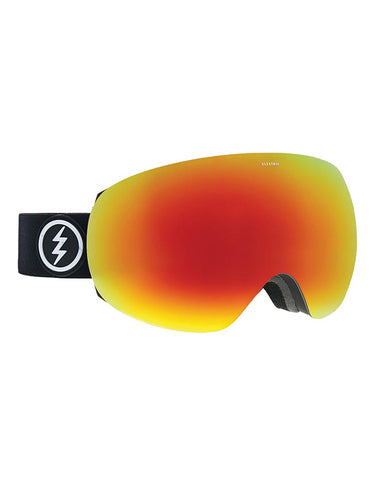 Electric EG3 Goggle Matte Black | BRose/Red Chrome