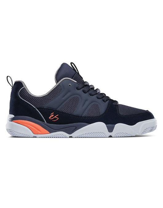 Es Silo Shoe | Navy/Grey/Orange