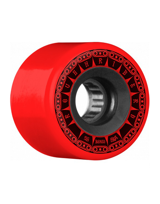 Bones ATF Rough Riders Tank Red Wheels 56mm 80a