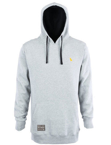 Yuki Threads Old Mate Reg Fit Hoodie 2019 | Heather Grey