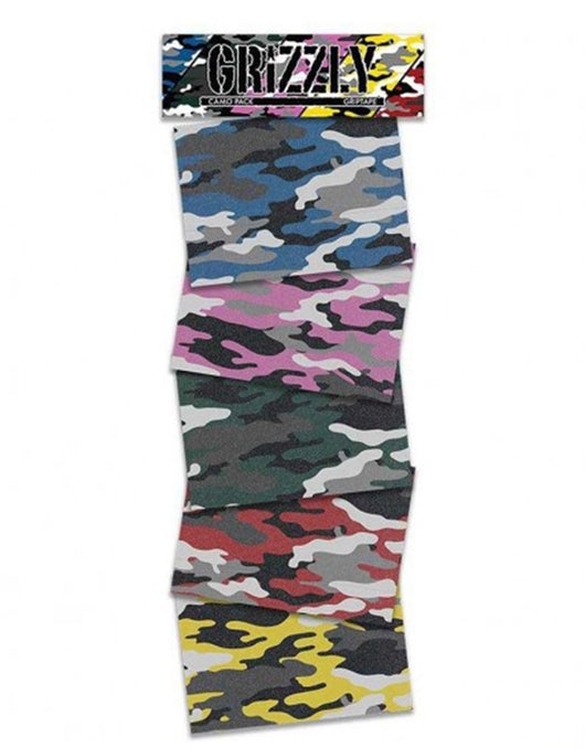 Grizzly Grip Camo Pack Square Sheets