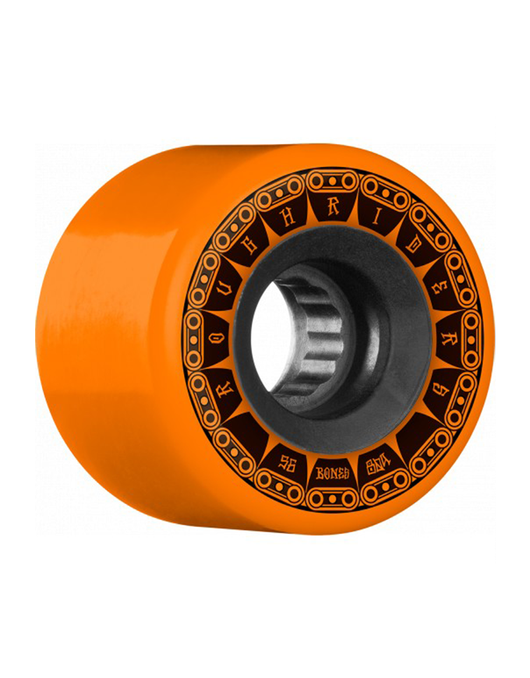 Bones ATF Rough Riders Tank Orange Wheels 56mm 80a