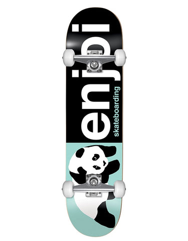 Enjoi Half and Half Complete Black/Light Green | 8.0""