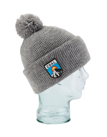 Coal The Summit Beanie Heather Grey