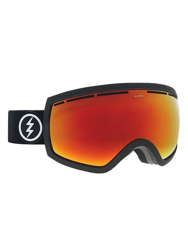 Electric EG2.5 Goggle Matte Black | BRose/Red Chrome