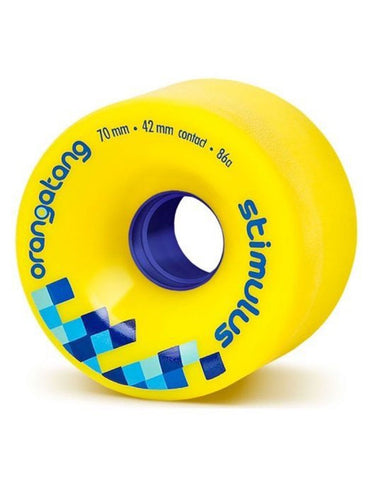 Orangatang Stimulus 70mm/86a | Yellow