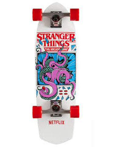 Madrid X Stranger Things 2 Complete Arcade Cruiser 28.5""