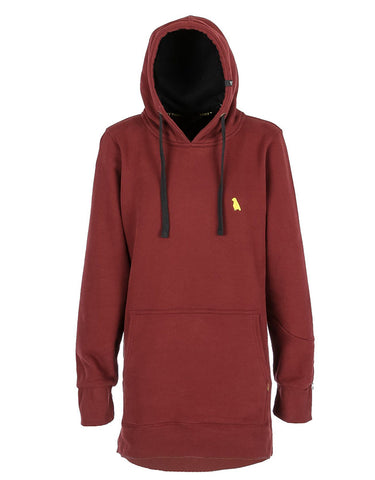 Yuki Threads OG Shred DWR Hoodie 2019 | Maroon
