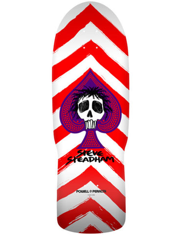 Powell Peralta Steadham Spade Deck Red/White | 10""