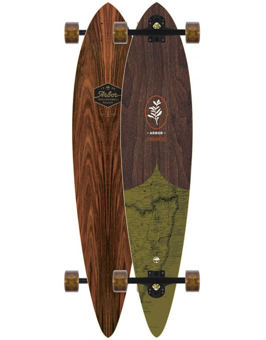 Arbor Timeless Groundswell Longboard | 42.0""