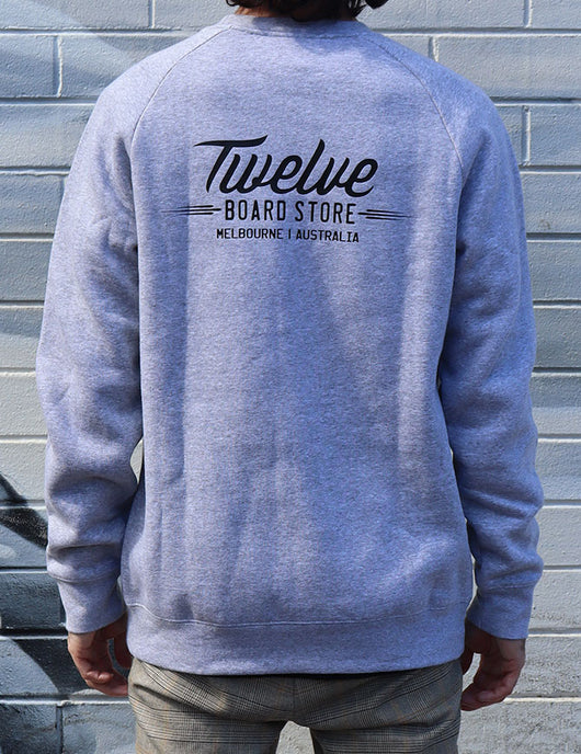 Twelve Melbs Box Crew | Grey