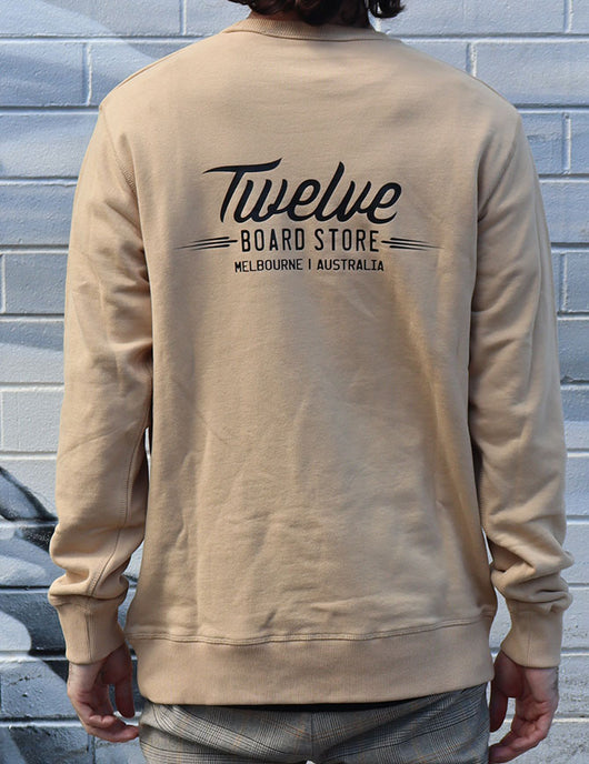 Twelve Melbs Box Crew Tan