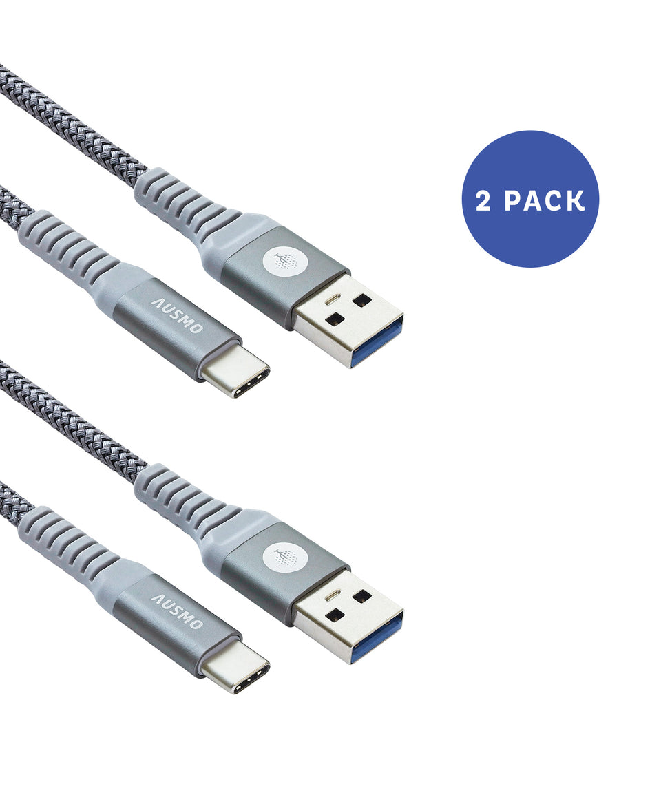 Type C 3.1 [2-Pack, 3 and 6ft Cable XTRA