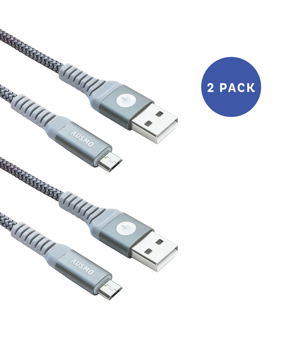 Micro USB [2-Pack, 3 and 6ft Cable XTRA