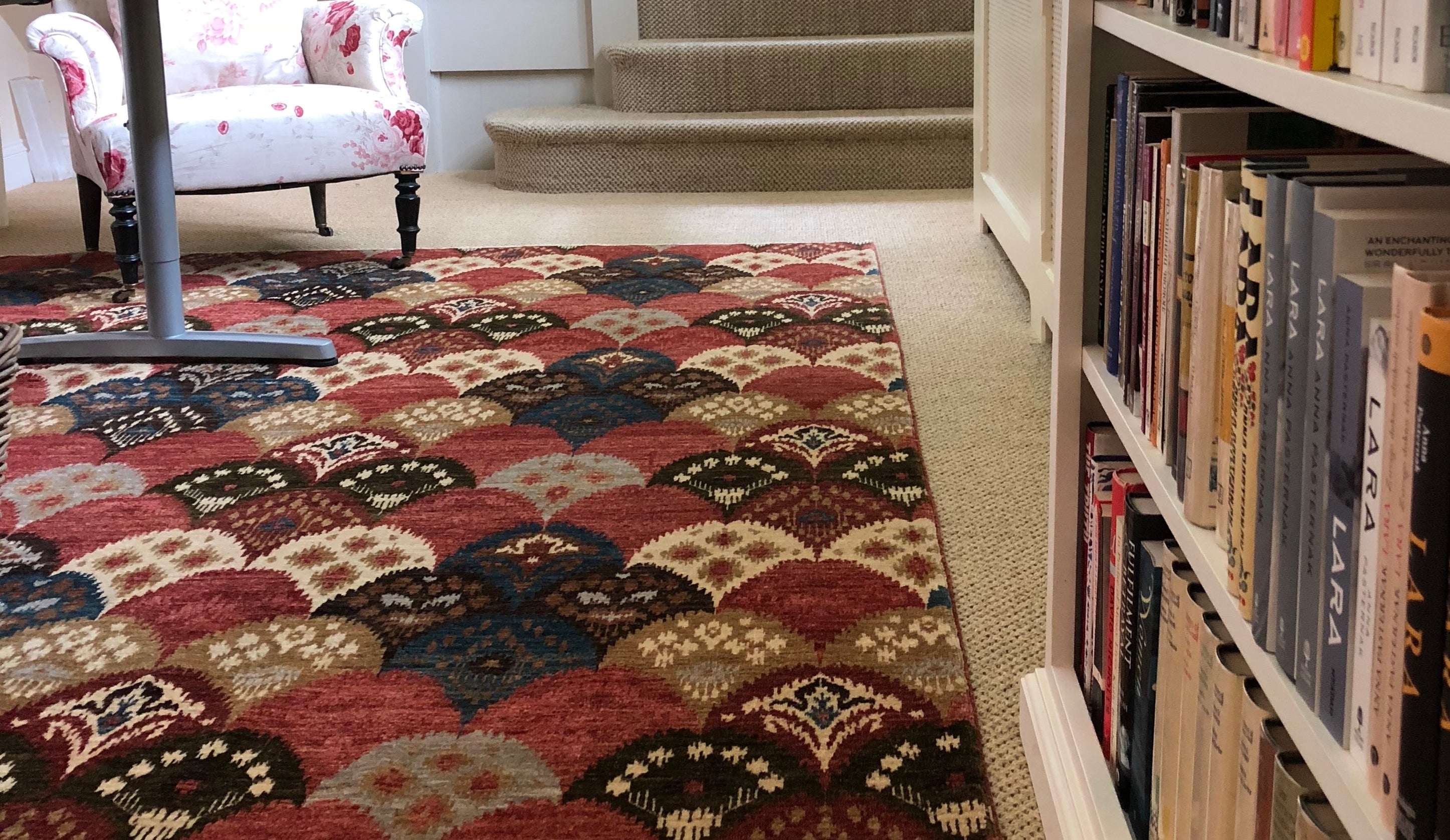 Contemporary handmade rugs London and henley on Thames-Marlow