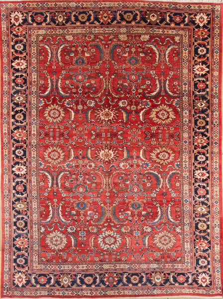 Antique Mahal Persian rug- circa 1900