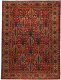Antique Persian Bakhtiyaar rug- circa 1920