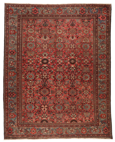 Antique Mahal rug- circa 1900