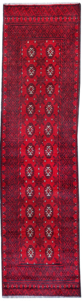 Afghan Tribal runner-276cm x 77cm