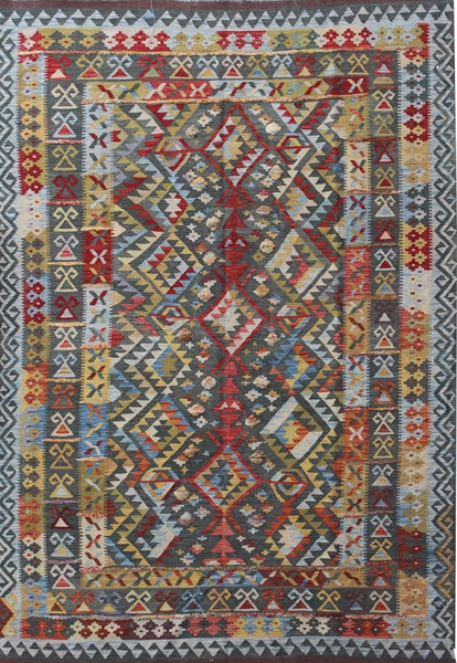 Traditional Kilim Rug 286cm x 206cm