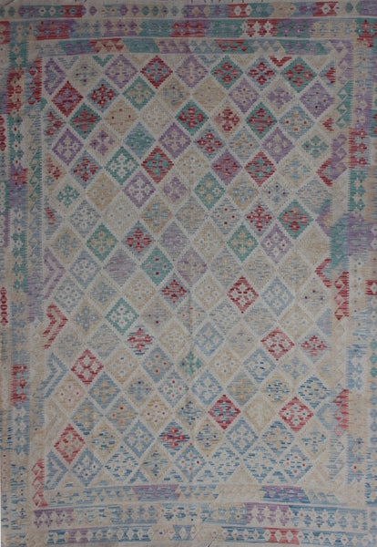 Traditional Kilim Rug 307cm 202cm