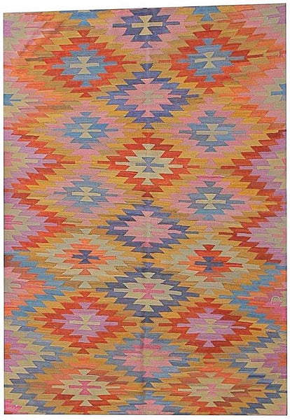 Contemporary kilim-226cm x 173cm