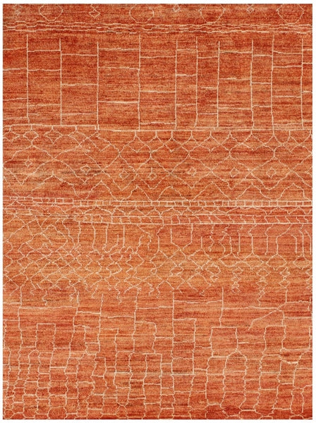 Contemporary Moroccan style Rug-197 cm x 152 cm