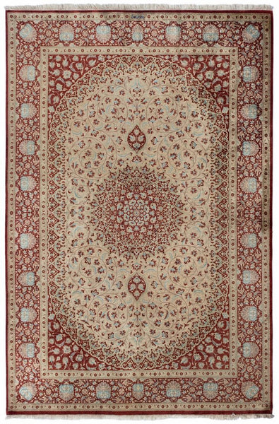 Pure Persian Sum Silk rug-200 x 170