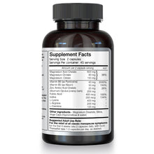 Menoxcel supplement facts panel