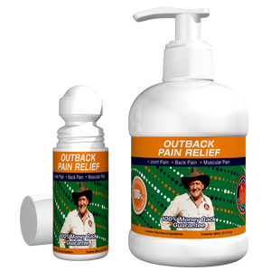 Outback Pain Relief Oil - 50ml with 300ml