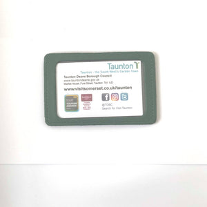Taunton Leather Bus Pass Holder