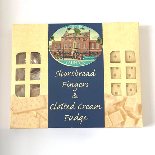 Shortbread Fingers & Clotted Cream Fudge