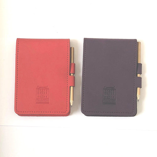 Taunton Leather Notepad & Pencil