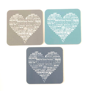 The Somerset Tea Towel Co. Coaster