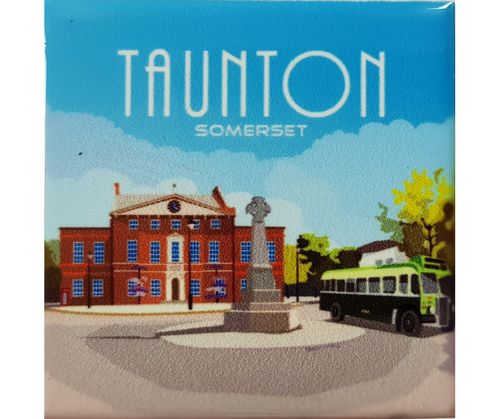 Taunton Ceramic Fridge Magnet