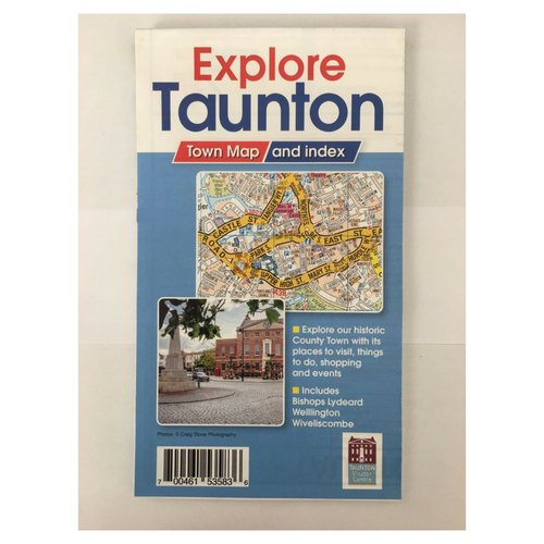 Explore Taunton Map
