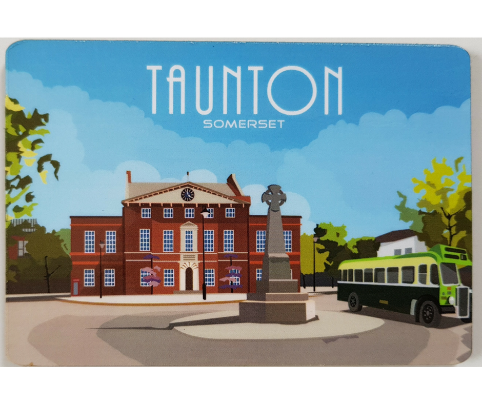 Taunton Fridge Magnet