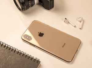 iPhone Xs Max Air Jacket超薄保護殼 (透黑)