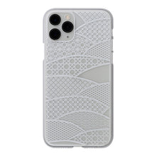iPhone 11 Pro  Air Jacket Kiriko 江戶切子-千代柄 扇(透明)