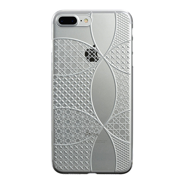 iPhone 8 Plus Air Jacket Kiriko 江戶切子-七寶(透明)