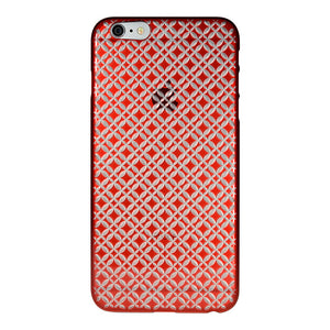 iPhone 6 Plus / 6s Plus Air Jacket Kiriko 江戶切子-七寶(紅)