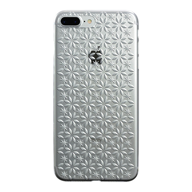 iPhone 7 Plus Air Jacket Kiriko 江戶切子-風車(透明)