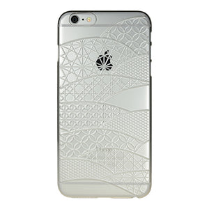 iPhone 6 Plus / 6s Plus Air Jacket Kiriko 江戶切子-扇形(透明)