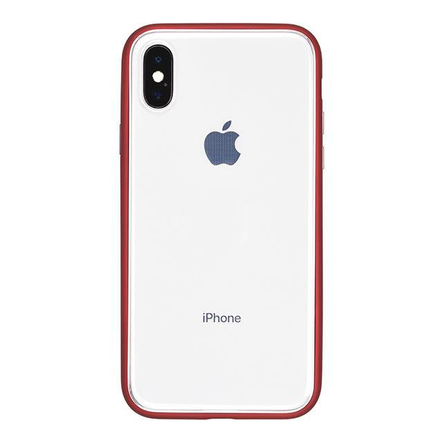 iPhone X Shock-Proof Air Jacket抗衝擊保護殼(紅)