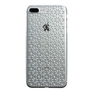 iPhone 8 Plus Air Jacket Kiriko 江戶切子-風車(透明)