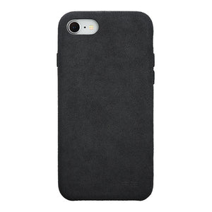 iPhone 8 Ultrasuede Air Jacket麂皮絨保護殼(黑)