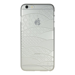 iPhone 6 Plus / 6s Plus Air Jacket Kiriko 江戶切子-扇形(霧透)
