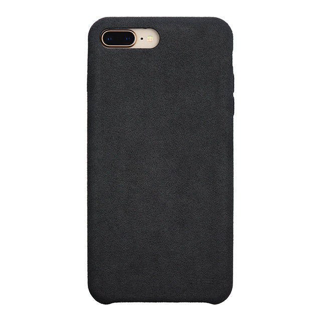 iPhone 8 Plus Ultrasuede Air Jacket麂皮絨保護殼(黑)